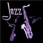 Jazz Saxophone Purple