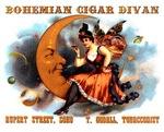 Bohemian Cigar Divan 1885