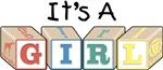 It's a Girl (blocks)