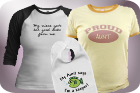 T-Shirts and Gifts for Aunts