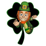 Four Leaf Clover Leprechaun