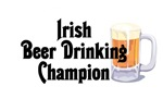 Irish Beer Drinking Champion