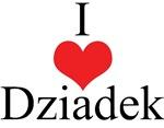 I Love (Heart) Dziadek
