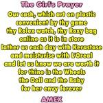 The Girl's Prayer