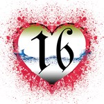 Gothic Heart 16th Gifts!