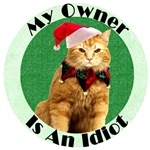 Rudolf The Pissed Off Kitty