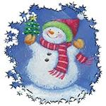 Iced Snowman