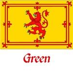 Green Scottish Flag