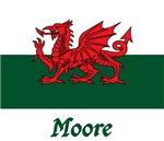 Moore Welsh Flag