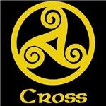 Cross Celtic Knot (Gold)
