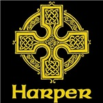 Harper Celtic Cross (Gold)