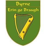 Byrne 1798 Harp Shield