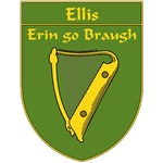 Ellis 1798 Harp Shield