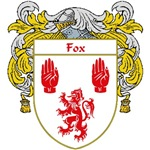 Fox Coat of Arms (Mantled)