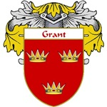 Grant Coat of Arms (Mantled)