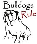 Bulldog Rule Black Logo
