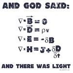 And God Said Maxwell's Equations