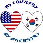South Korea / USA My Country My Ancestry