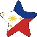 Philippines Flag Star
