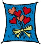 Bouquet of Hearts T-shirts & Gifts