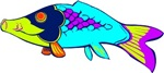 Colorful Fish T-shirts & Gifts