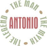 Antonio the Man the Myth the Legend T-shirts Gifts