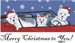Merry Christmas Westies