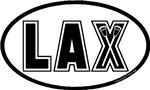 Lacrosse Lax Oval
