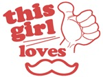 Guy / Girl Loves Mustache