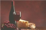 Red Wine Grapes & Cheese