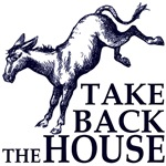 Take Back the House T-Shirts and Stickers