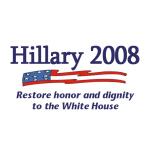 """Hillary 2008"" is in Anti-Bush"