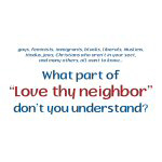 Love Thy Neighbor - Goodies