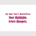 NY Resolutions - Goodies