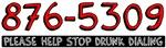 867-5309 STOP DRUNK DIALING!