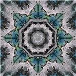 Winter Art Mandala