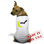Moon and Bat for Babies Kids and Dogs