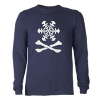 Snow and Crossbones: a Modern Jolly Roger