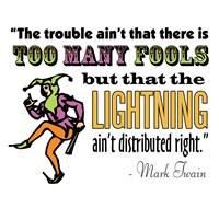 Too Many Fools