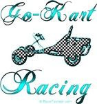 Go Kart Racing in Blue