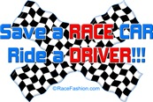 Save A RACE CAR ride a DRIVER
