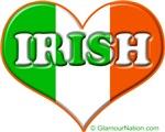 Irish Flag Heart 2