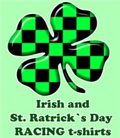 Irish and St. Patrick's Day in Auto Racing Style
