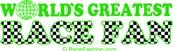 World's Greatest Race Fan (in green)