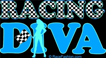 Racing Diva (Light Blue/Blue)