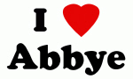 I Love Abbye