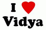 I Love Vidya