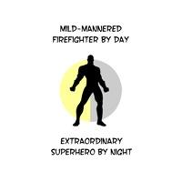 Firefighting Superhero