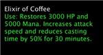 Elixir of Coffee---SALE
