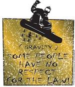 Gravity Snowboarder